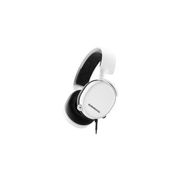 SteelSeries Arctis 3 電競耳機-白