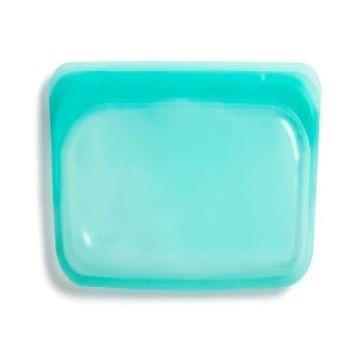Stasher 長形矽膠密封袋-湖水藍
