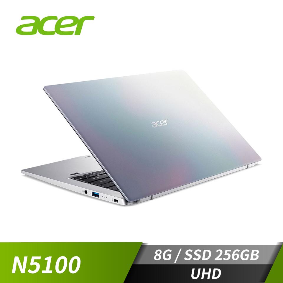 """宏碁 ACER Swift 1 筆記型電腦 14"""" (N5100/8G/256G/W10)"""