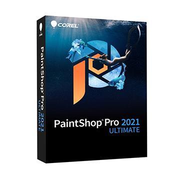 Corel PaintShop Pro 2021 旗艦完整版盒裝(中/英)