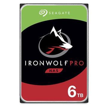 Seagate【IronWolf Pro】3.5吋 6TB NAS硬碟
