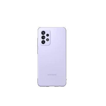 三星SAMSUNG Galaxy A52 原廠矽膠薄型背蓋 紫 EF-PA525TVEGWW