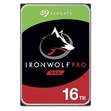 Seagate【IronWolf Pro】3.5吋16TB NAS硬碟