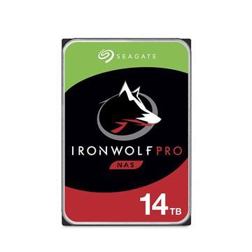 Seagate【IronWolf Pro】3.5吋14TB NAS硬碟