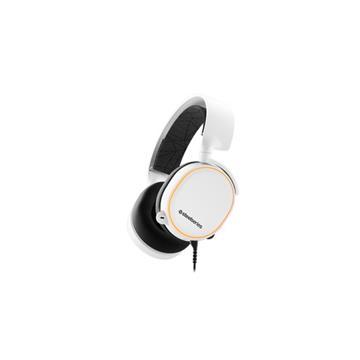 賽睿SteelSeries Arctis 5 White電競耳機-白 ARCTIS 5 白