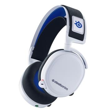 賽睿SteelSeries Arctis 7P White 無線電競耳機-白