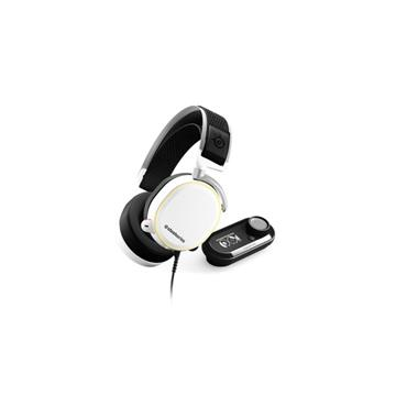 SteelSeries Arctis Pro + GameDAC White電競耳機-白