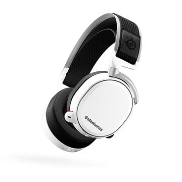 賽睿Steelseries Arctis Pro Wireless White無線電競耳機-白