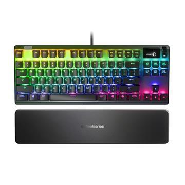 賽睿SteelSeries Apex 7 TKL 機械式電競鍵盤-英文紅軸