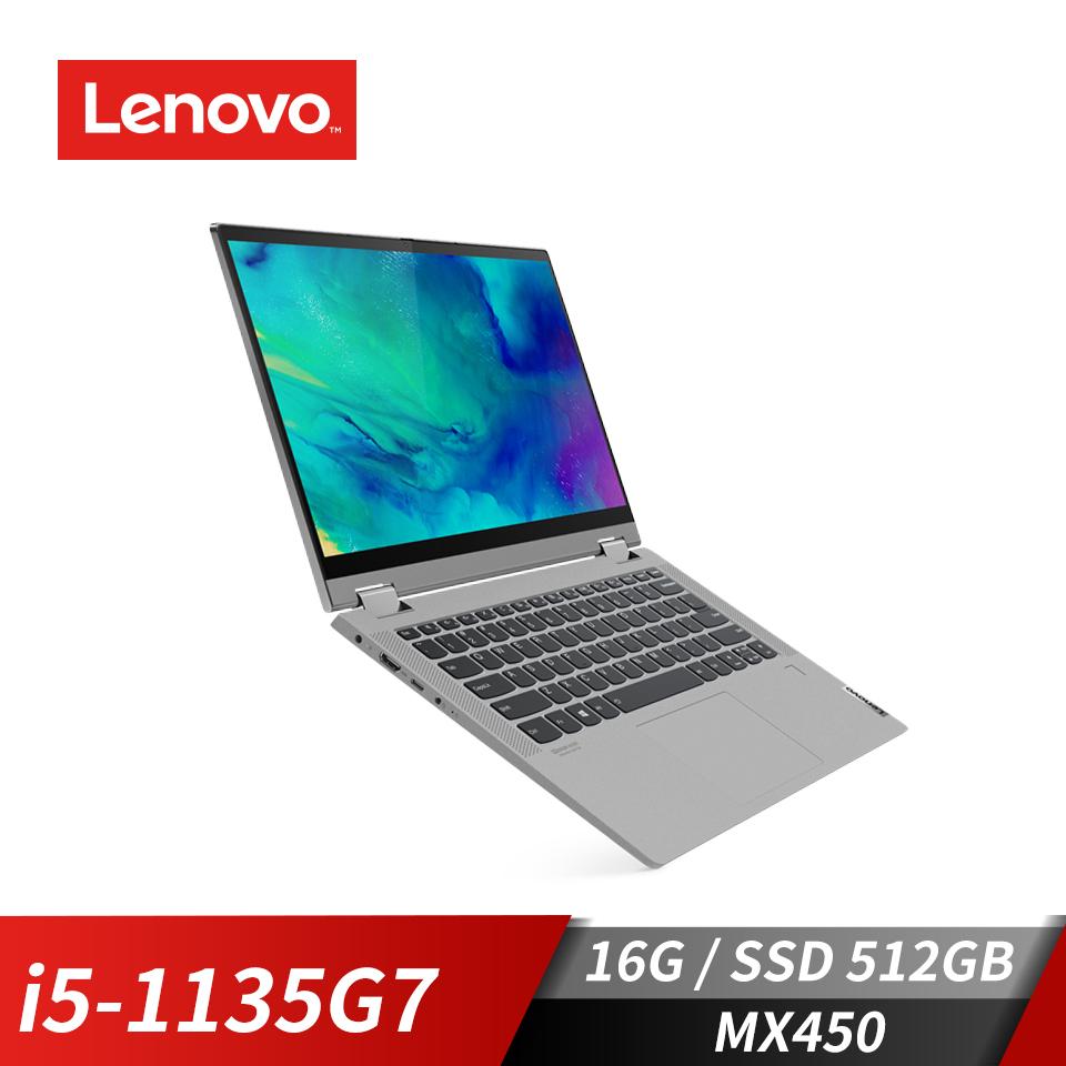 Lenovo IdeaPad Flex 5i 筆記型電腦 石墨灰(i5-1135G7/MX450/16GB/512GB SSD)