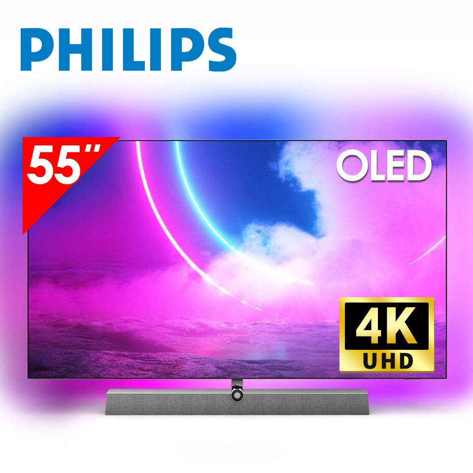 飛利浦PHILIPS 55型4K OLED安卓智慧顯示器