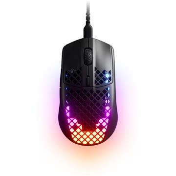 Steelseries Aerox 3 Black電競滑鼠-黑
