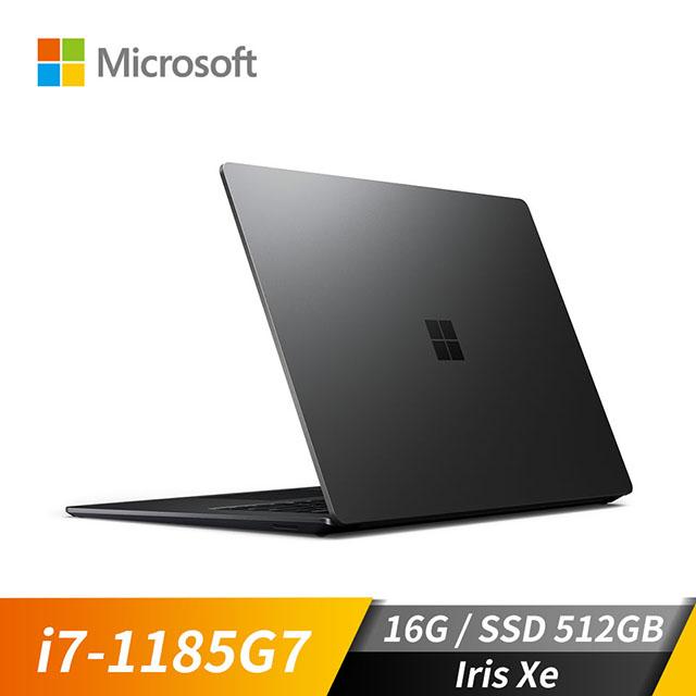 微軟Microsoft Surface Laptop4 霧黑色(i7-1185G7/Iris Xe/16GB/512GB SSD/15吋)