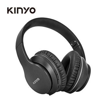 KINYO 頭戴式降噪藍牙耳機麥克風