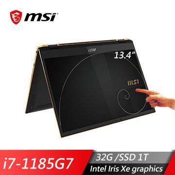 msi微星SummitE13FlipEvoA11MT-031TW 筆電(i7-1185G7/32G/1T/W10P)