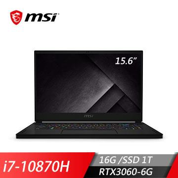 msi微星 GS66 10UE-462TW 電競筆電(i7-10870H/16G/1T/RTX3060/W10)