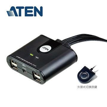 ATEN US424 4埠USB2.0週邊分享切換器