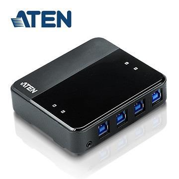 ATEN US434 4埠USB3.2 Gen1週邊分享切換器