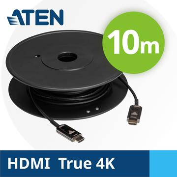 ATEN 真4K HDMI 2.0主動式光纖線-10M