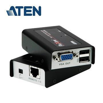 ATEN USB VGA Cat5 迷你型KVM延長器