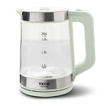 TECO 1.7L大容量玻璃快煮壺