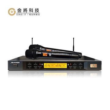 金將 AU-25 專業200頻無線麥克風