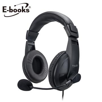 E-books SS30立體聲頭戴式耳機麥克風