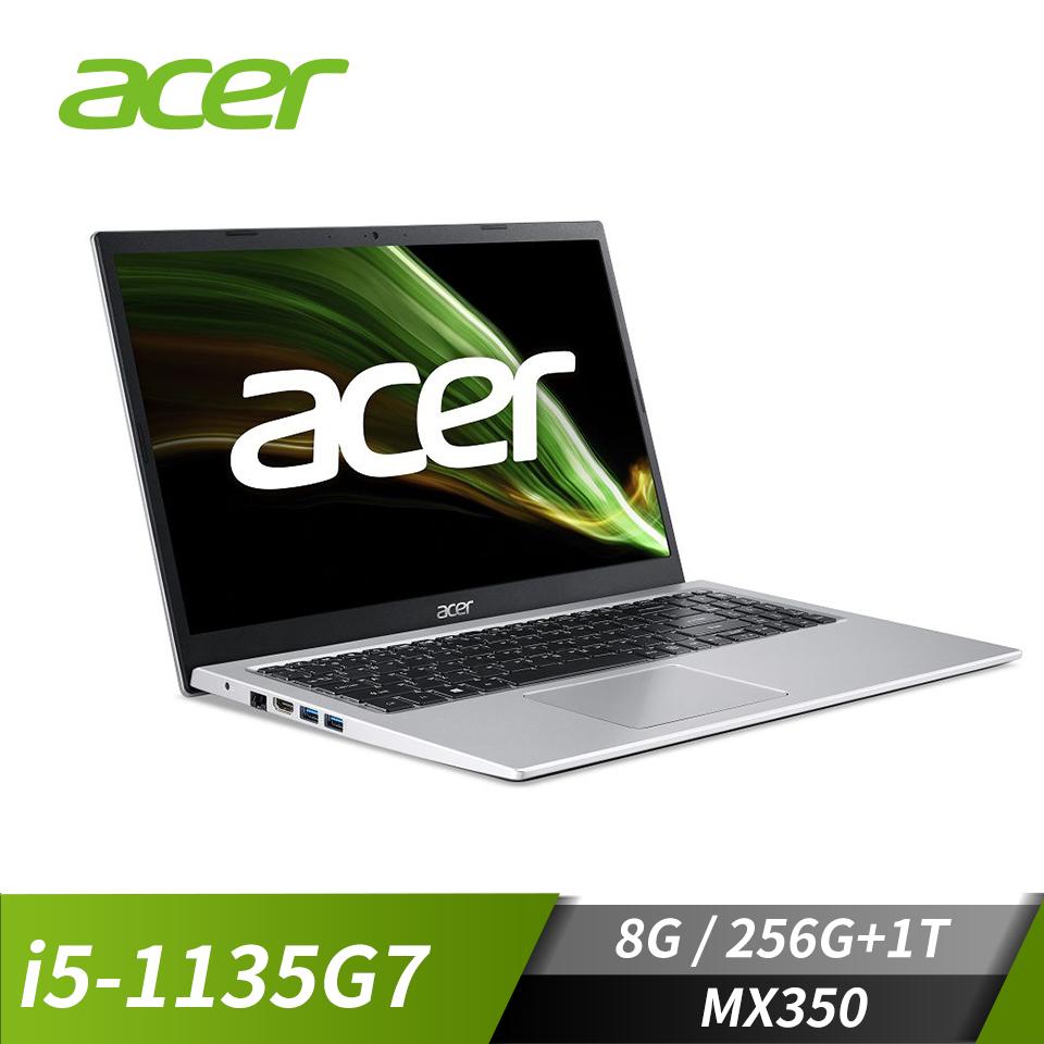 "宏碁ACER Aspire3 筆記型電腦15.6""(i5-1135G7/8G/256G+1T/MX350/W10)"