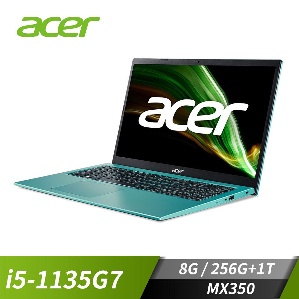 宏碁ACER 筆記型電腦- Aspire(i5-1135G7/MX350/8G/256G+1T/W10)