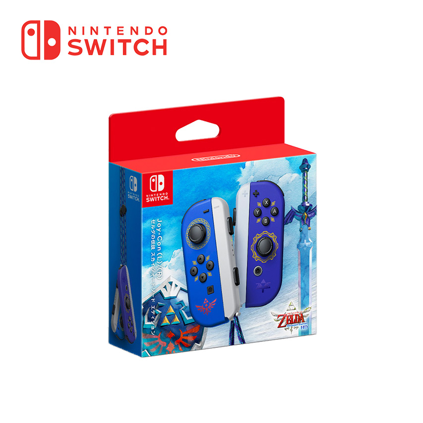 Switch Joy-Con 左右手套裝-禦天之劍特別款