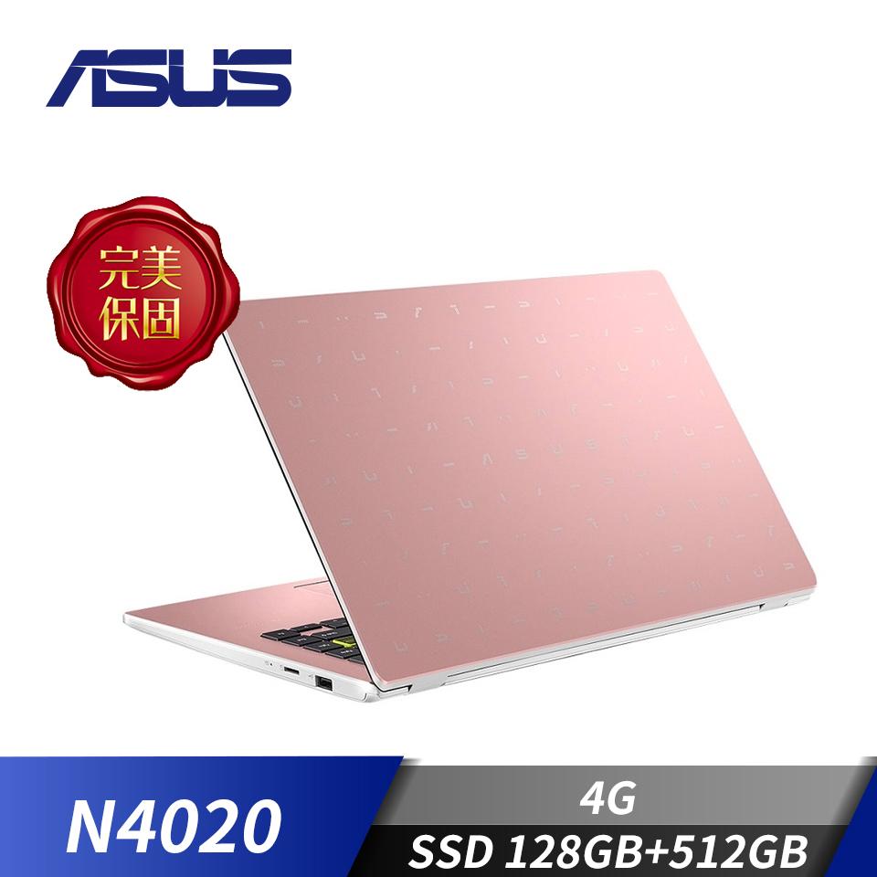 華碩ASUS Laptop 14 筆記型電腦 金(N4020/4G/128G+512G/W10)