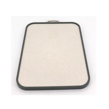 東元贈品-安妮兔雙面不鏽鋼麥稈砧板