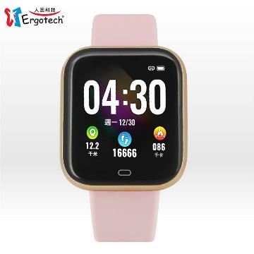 人因MWB239VP心率智慧監測運動手錶 粉 -具血氧飽和度偵測功能