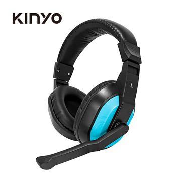 KINYO 線控頭罩式耳麥