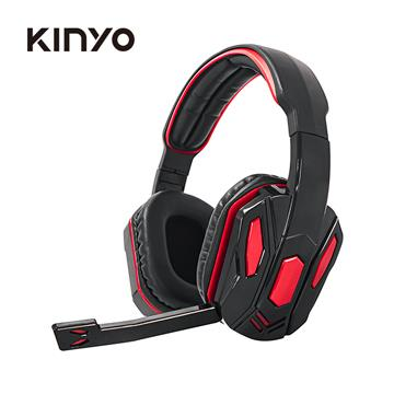 KINYO 電競遊戲線控耳麥