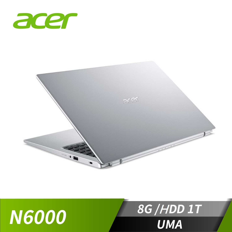 "宏碁 ACER Aspire 3 筆記型電腦 15.6""(Silver N6000/8GB/1TB/Win10)"