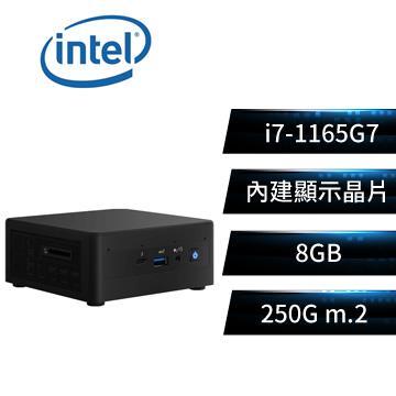 Intel NUC平台[沙漠戰神]i7四核迷你電腦(i7-1165G7/8G/250G)