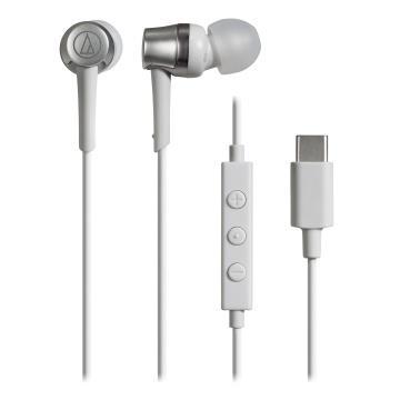鐵三角 CKD3C耳塞式耳機-白