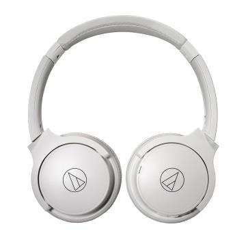 鐵三角 S220BT耳罩式藍牙耳機-白