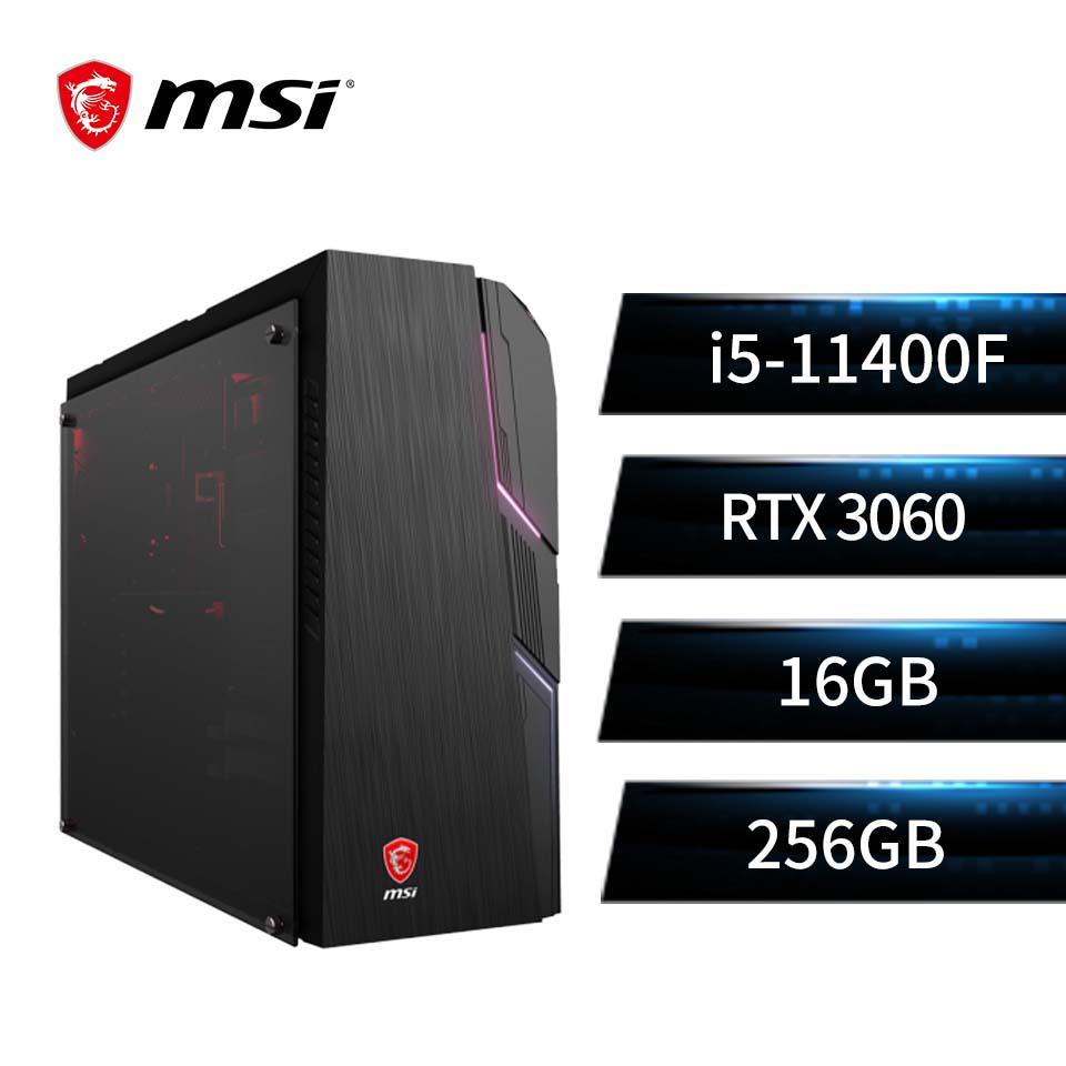 微星 MSI 桌上型主機 (i5-11400F/16GB/256GB/RTX 3060/Win10)