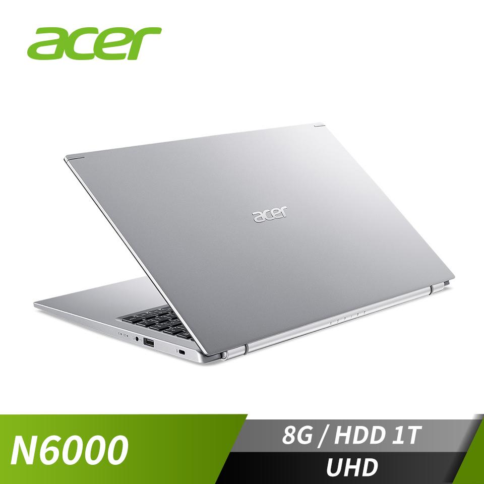 宏碁ACER Aspire 3 筆記型電腦(N6000/8G/1T/W10)
