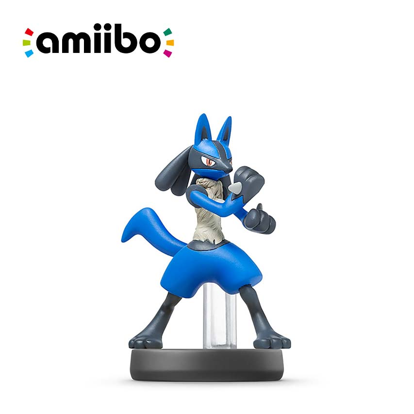 Amiibo 公仔 路卡利歐 大亂鬥系列