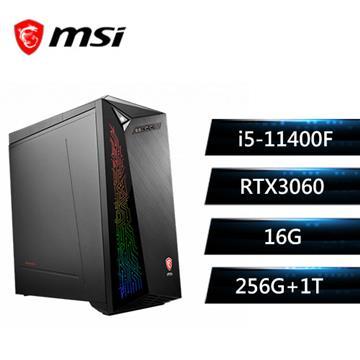 msi微星 Infinite 11TC-1269TW 電競桌機(i5-11400F/16G/256G+1T/RTX3060/W10)