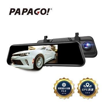 PAPAGO FX760Z GPS測速後視鏡行車紀錄器