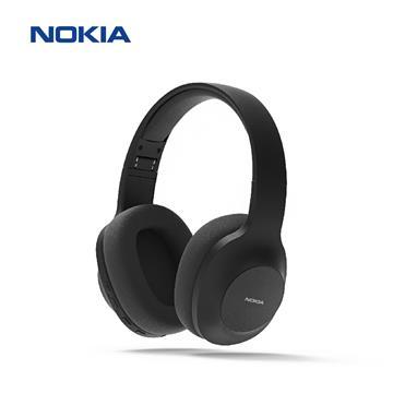 NOKIA E1200頭戴式無線藍牙耳機-黑