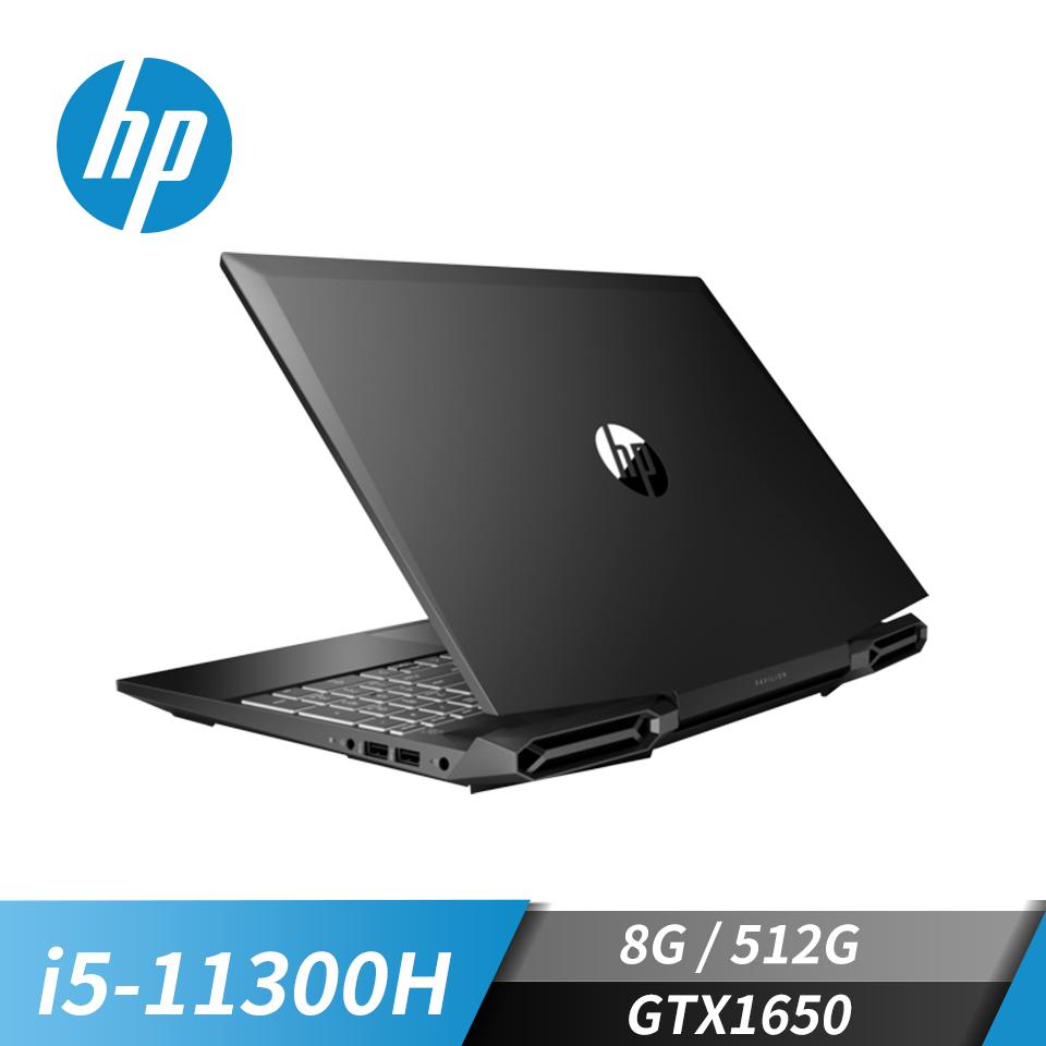 """惠普 HP Pavilion Gaming 15 電競筆記型電腦 15.6""""(i5-11300H/8GB/512GB/GTX1650/W10)黑騎士"""