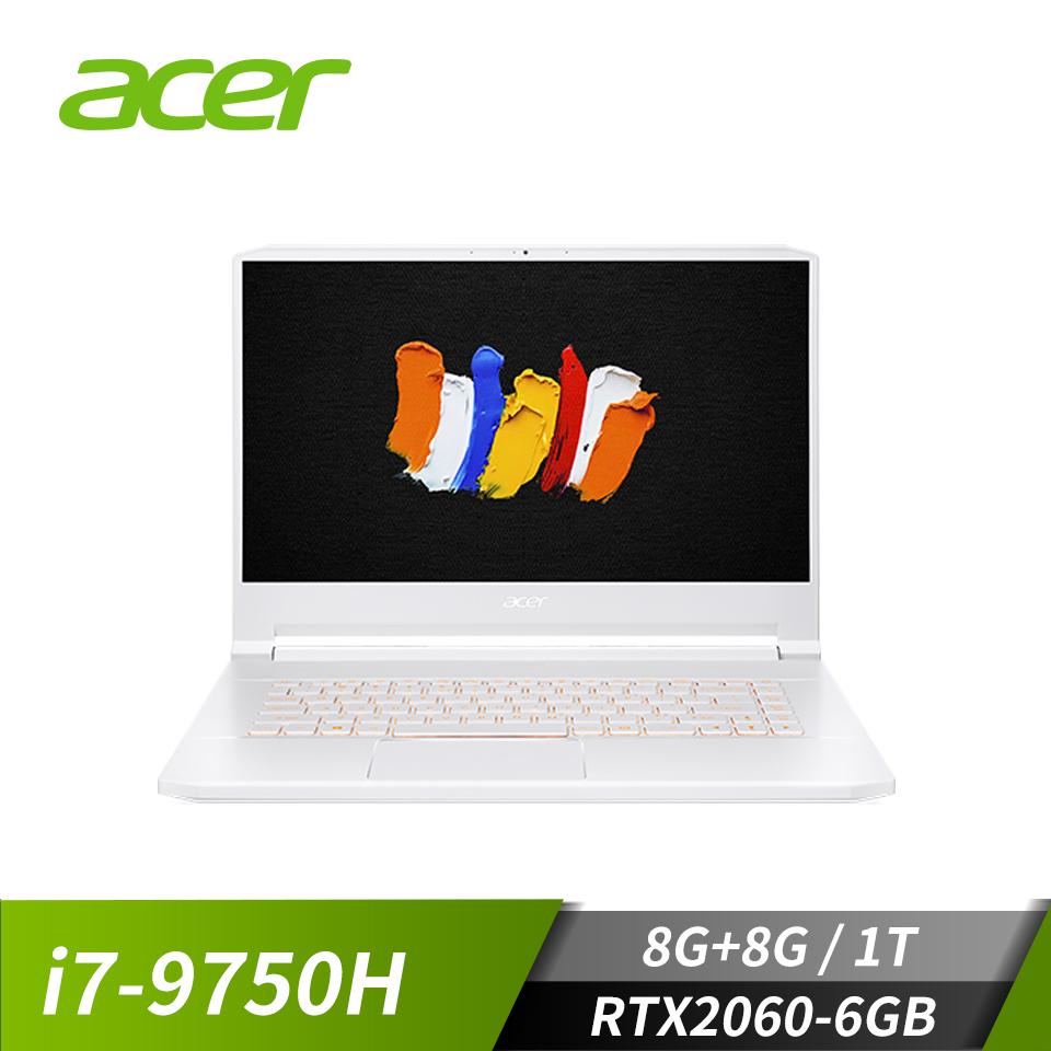 "宏碁 ACER ConceptD 7 筆記型電腦 15.6"" (i7-9750H/8+8GB/1TB/RTX2060-6GB/W10)"