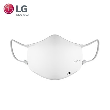 【LG 樂金】2021新款LG PuriCare 口罩型空氣清淨機  質感白