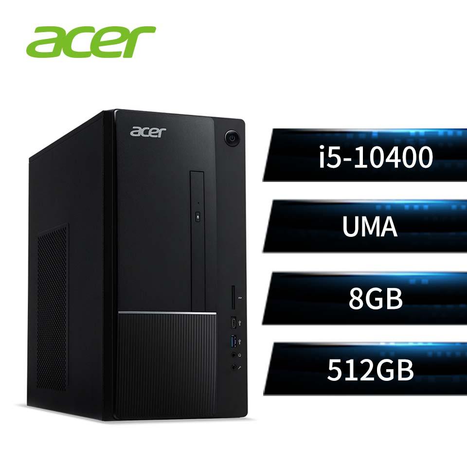 宏碁 ACER 桌上型主機 (i5-10400/8GB/512GB/W10)