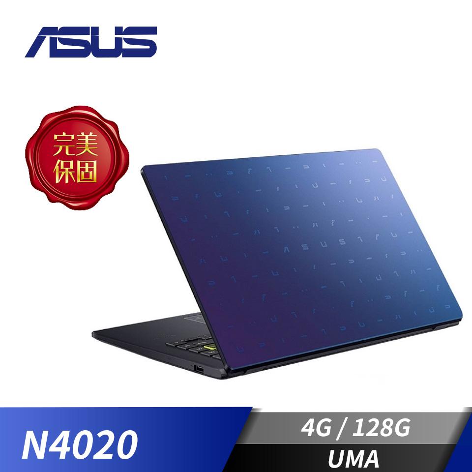 華碩ASUS Laptop E410MA 筆記型電腦-夢想藍(N4020/4G/128G/W10H)